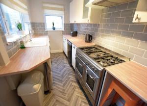 A brand new kitchen