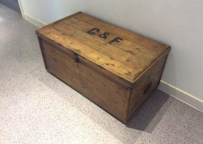 Restored storage chest